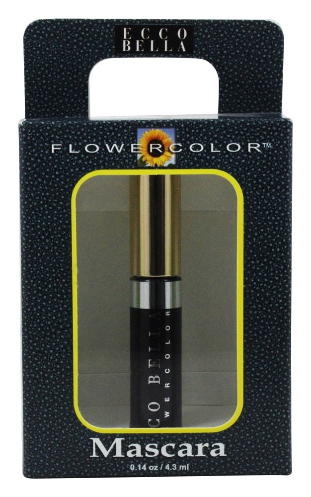 Ecco Bella - FlowerColor Natural Mascara Mini Black - 0.14 oz.