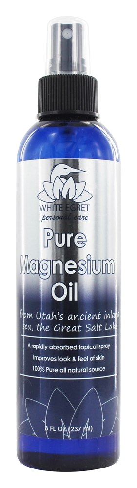 White Egret - Pure Magnesium Oil - 8 oz.
