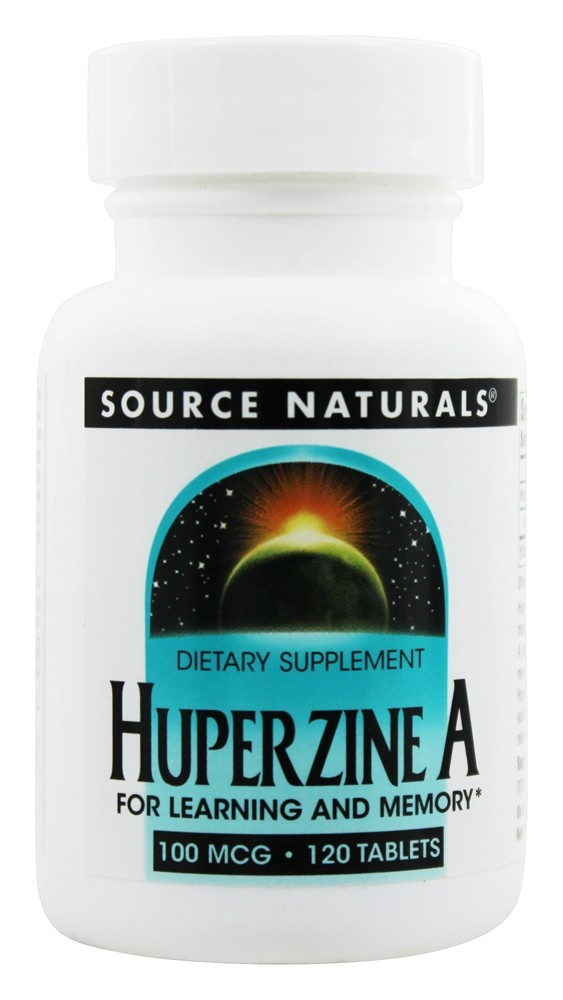 Source Naturals - Huperzine A For Learning And Memory 100 mcg. - 120 Tablet(s)
