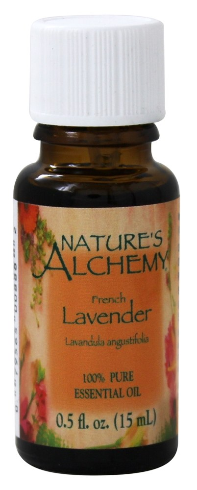 Nature's Alchemy - 100% Pure Essential Oil French Lavender - 0.5 oz.