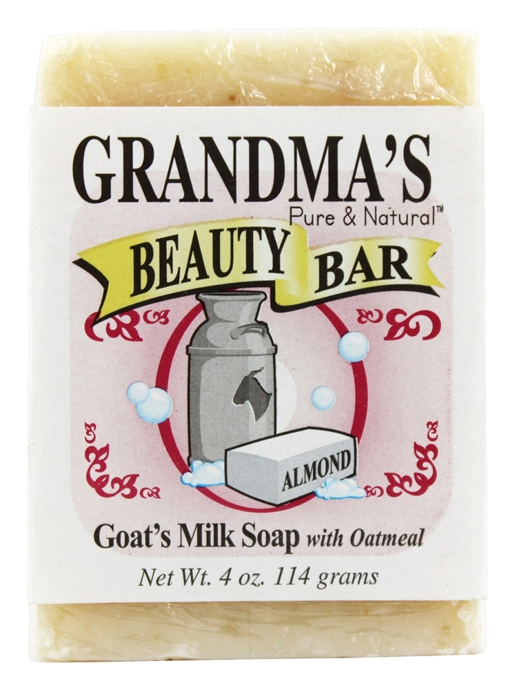 Remwood Products Co. - Grandma's Pure & Natural Beauty Bar Oatmeal/Almond - 4 oz.