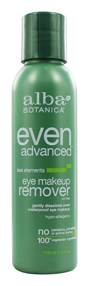 Alba Botanica - Natural Even Advanced Sea Elements Eye Makeup Remover - 4 oz.