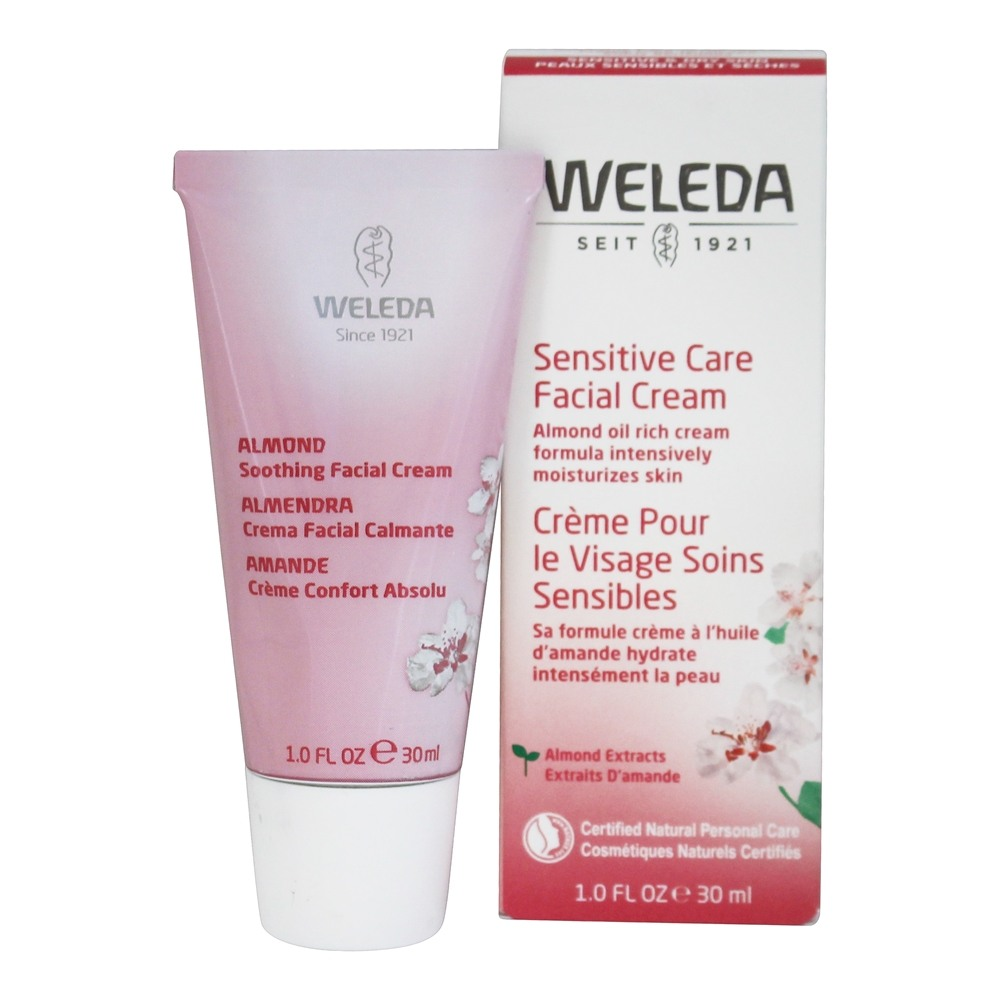 Weleda - Almond Soothing Facial Cream Fragrance-Free - 1 oz.