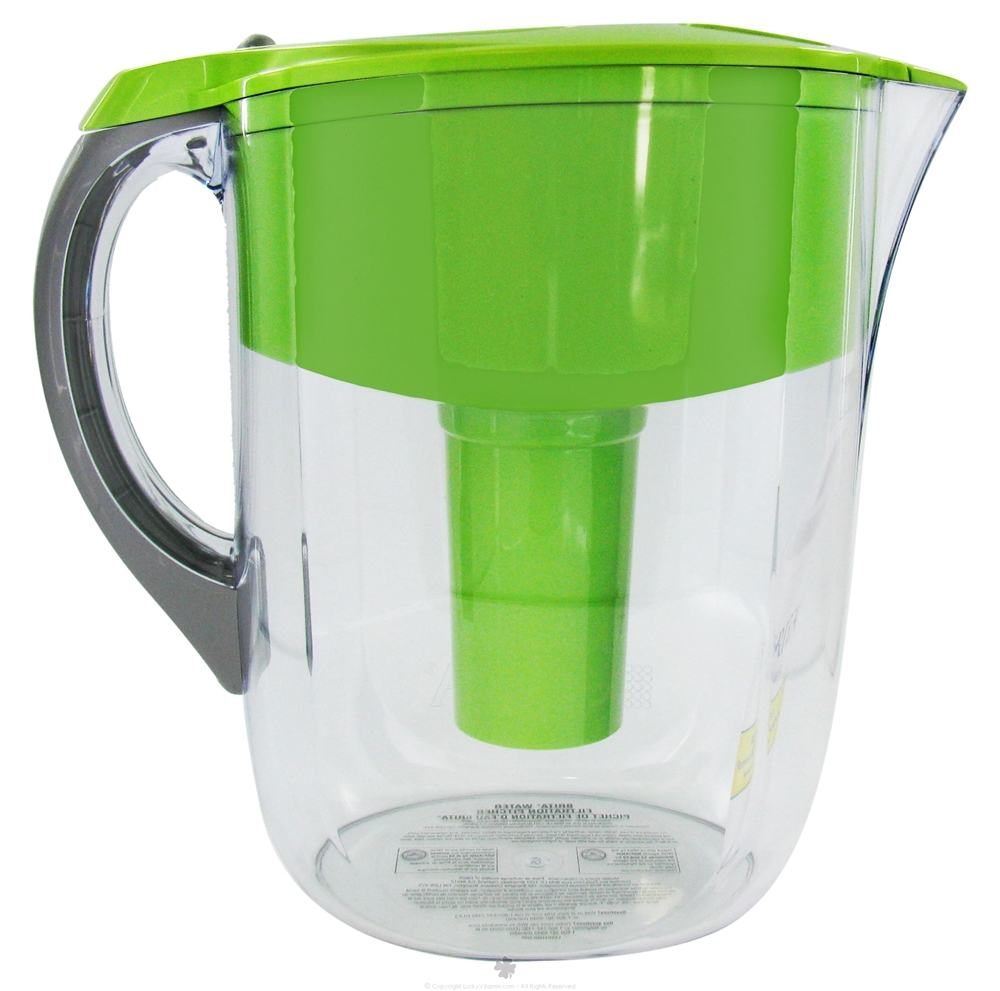Glass water pitcher with filter images - Glass filtered water pitcher ...
