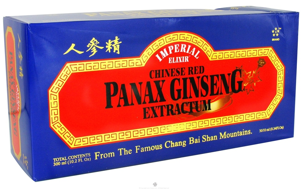 Imperial Elixir - Chinese Red Panax Ginseng Extractum - 30 Bottle(s)