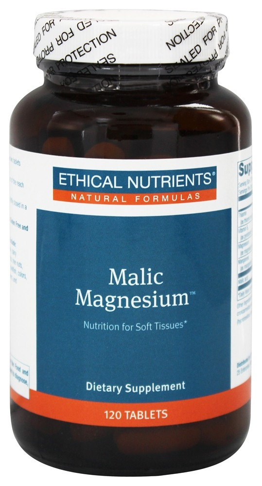 Ethical Nutrients - Malic Magnesium - 120 Tablets