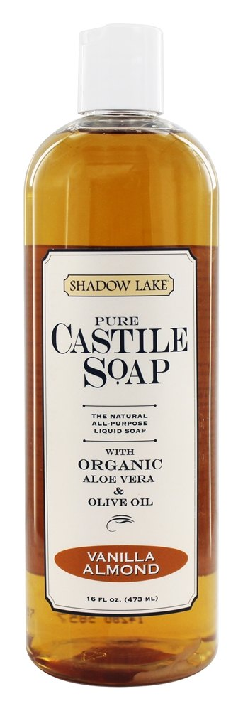 Shadow Lake - Pure Castile Soap Vanilla Almond - 16 oz.