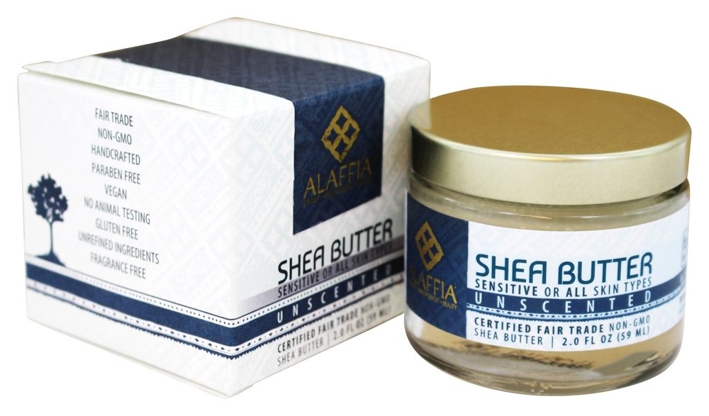 Alaffia - Shea Butter Unscented - 2 oz.