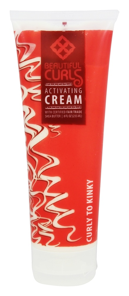 Alaffia - Beautiful Curls Activating Cream for Curly to Kinky Hair - 8 oz.
