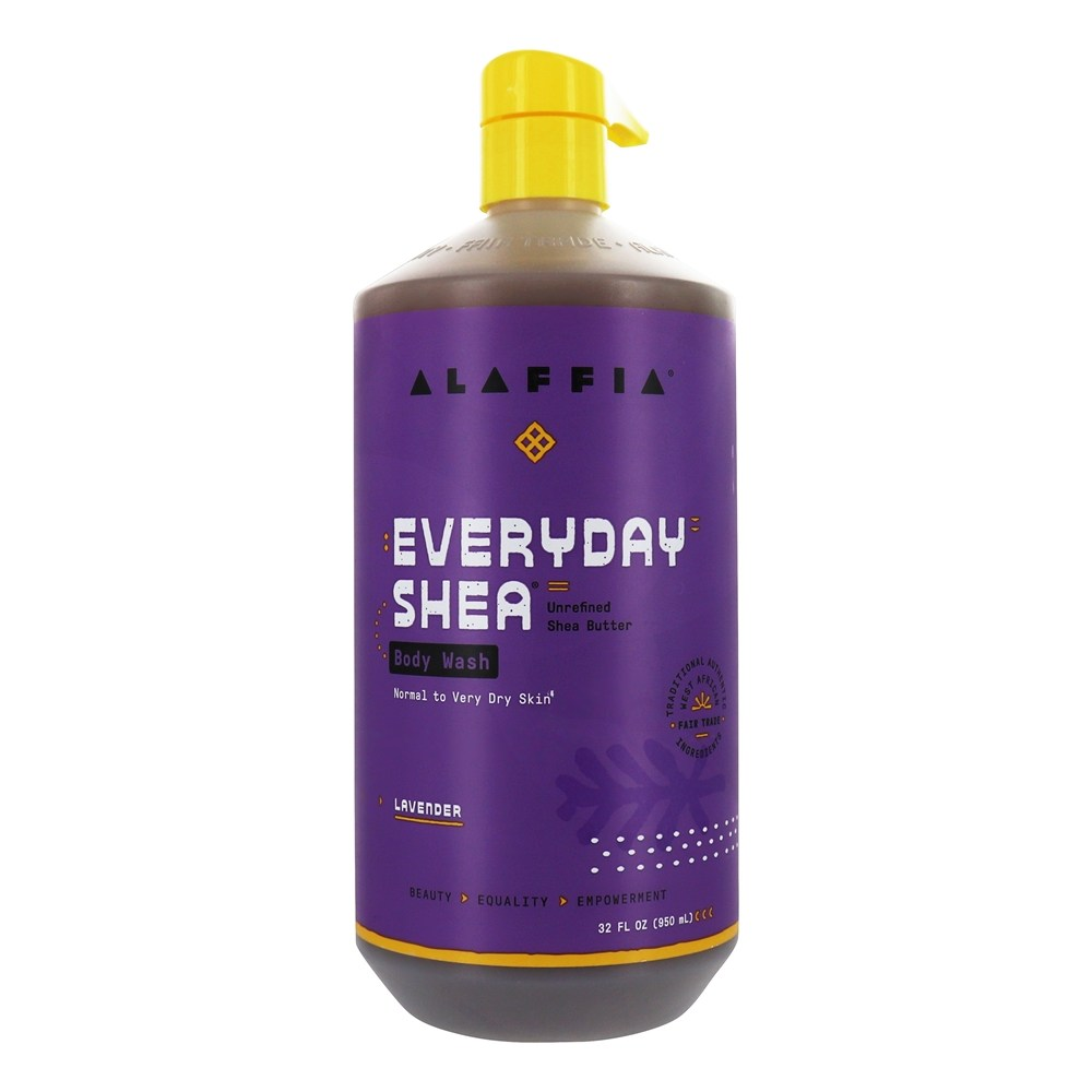 Alaffia - Everyday Shea Moisturizing Body Wash Lavender - 32 oz.