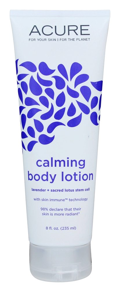 ACURE - Calming Body Lotion Lavender + Sacred Lotus Stem Cell - 8 oz.