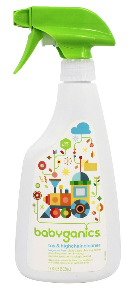 BabyGanics - Toy & Highchair Cleaner Fragrance Free - 17 oz.