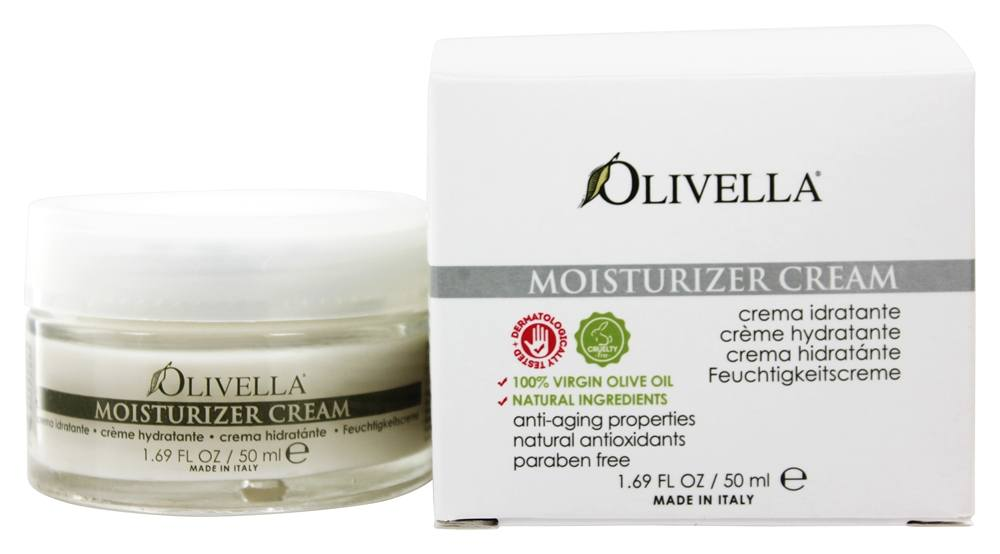 Olivella - Virgin Olive Oil Moisturizer Cream - 1.69 oz.