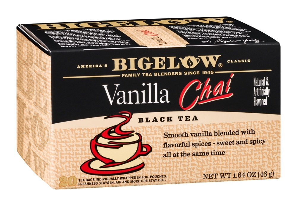 Bigelow Tea - Black Tea Vanilla Chai - 20 Tea Bags