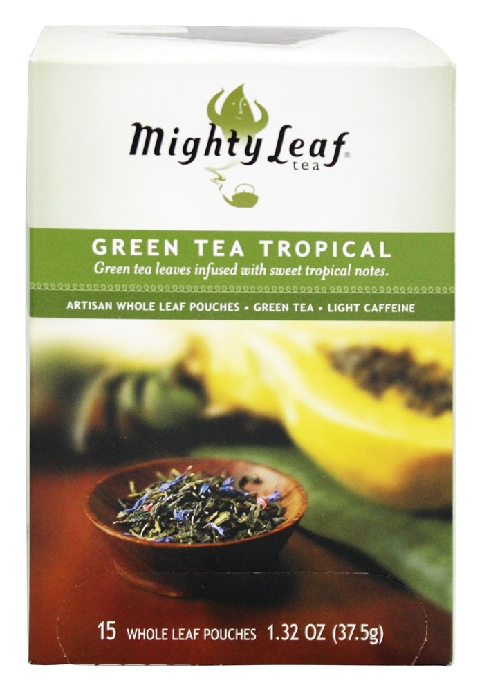 Mighty Leaf - Green Tea Tropical - 15 Tea Bags
