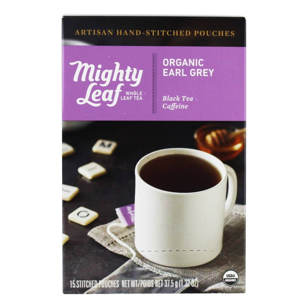 Mighty Leaf - Black Tea Organic Earl Grey - 15 Tea Bags