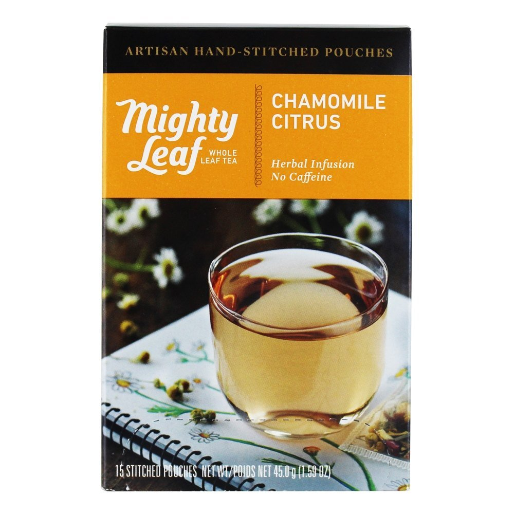 Mighty Leaf - Herbal Infusion Chamomile Citrus - 15 Tea Bags