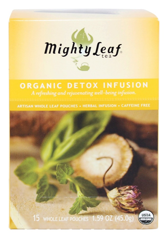 Mighty Leaf - Herbal Infusion Organic Detox Infusion - 15 Tea Bags