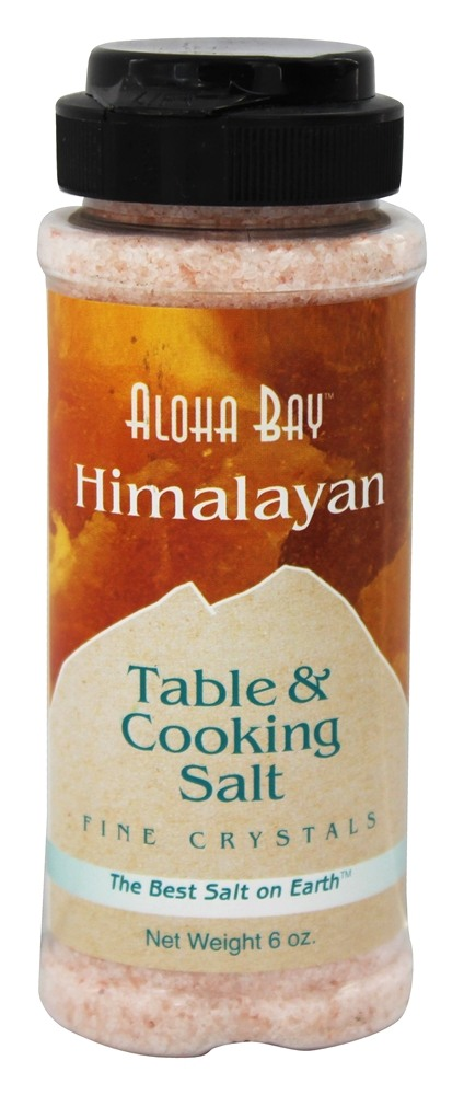 Himalayan Salt - Table & Cooking Salt By Aloha Bay - 6 oz.