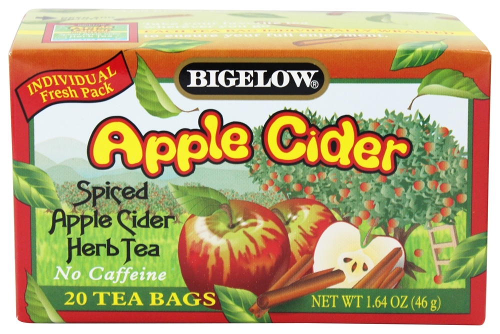 Bigelow Tea - Herb Tea Spiced Apple Cider - 20 Tea Bags