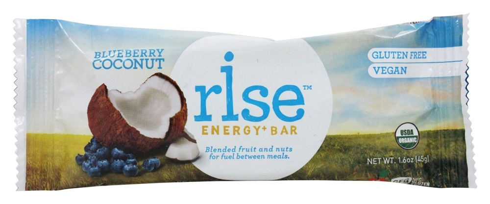 Rise Foods - Rise Energy Bar Blueberry Coconut - 1.6 oz. Formerly PranaBar