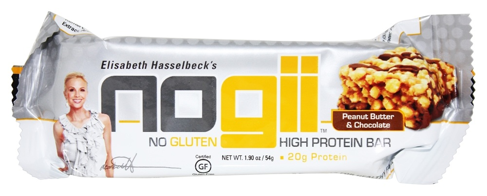 NoGii - High Protein Bar Peanut Butter & Chocolate - 1.93 oz.