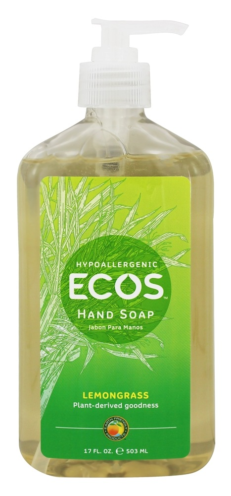 Earth Friendly - Hand Soap Organic Lemongrass - 17 oz.