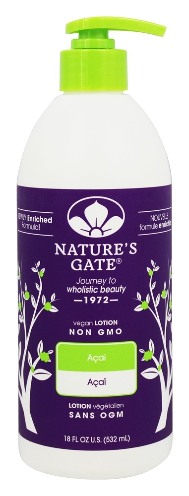 Nature's Gate - Vegan Lotion Acai - 18 oz.