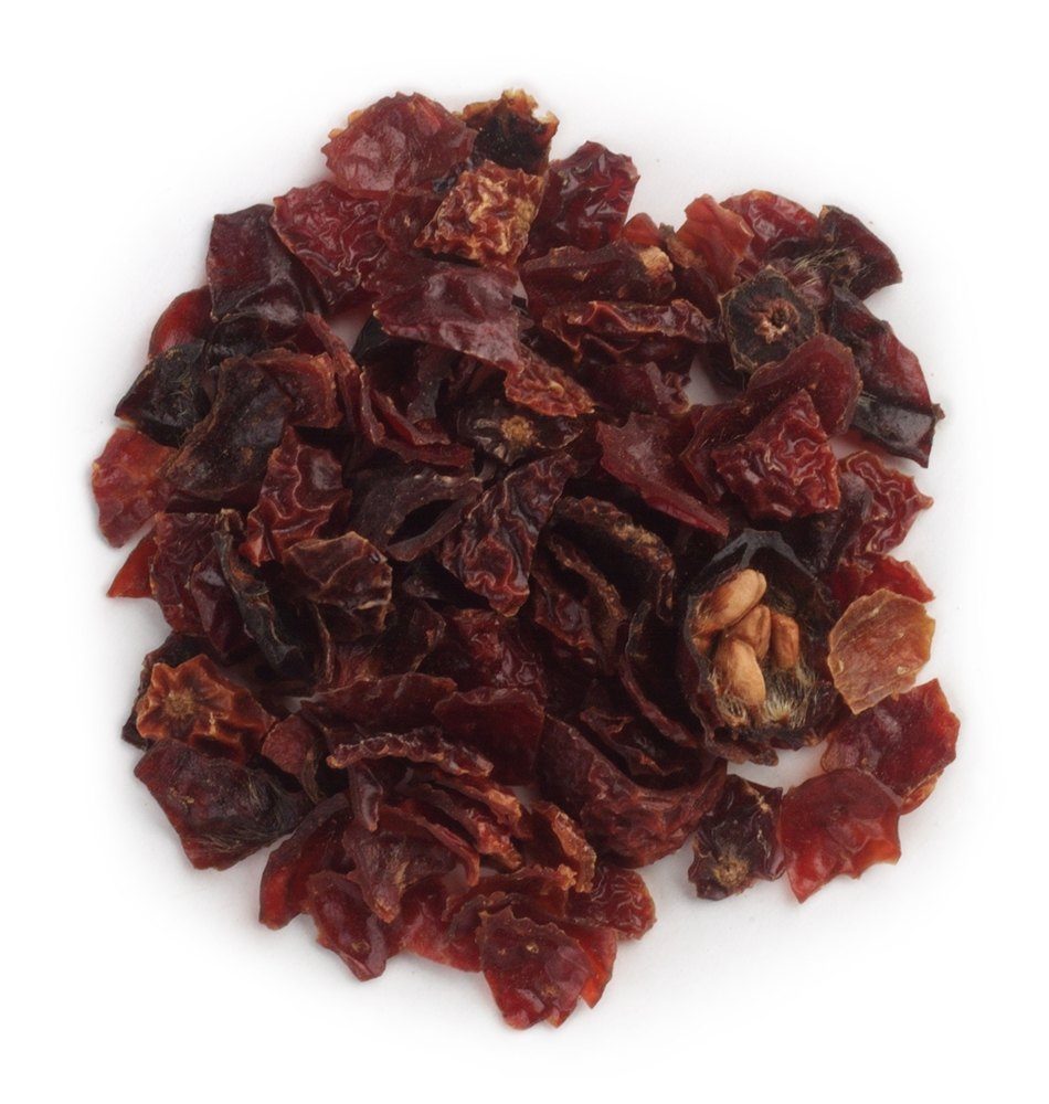 Frontier Natural Products - Rosehips Seedless Cut & Sifted Organic - 1 lb.