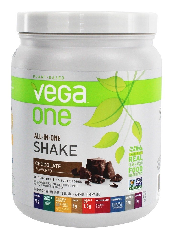 Vega - All-in-One Nutritional Shake Chocolate - 16 oz.