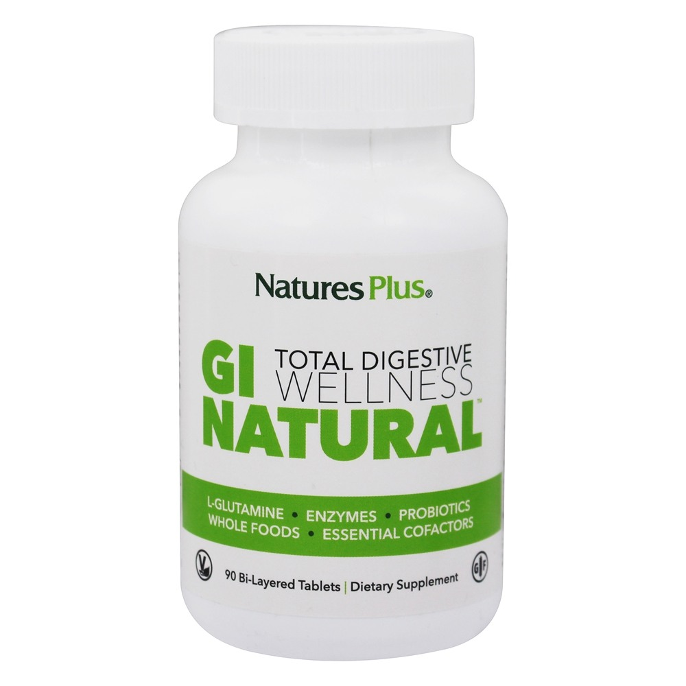 Nature's Plus - GI Natural Total Digestive Wellness - 90 Tablets