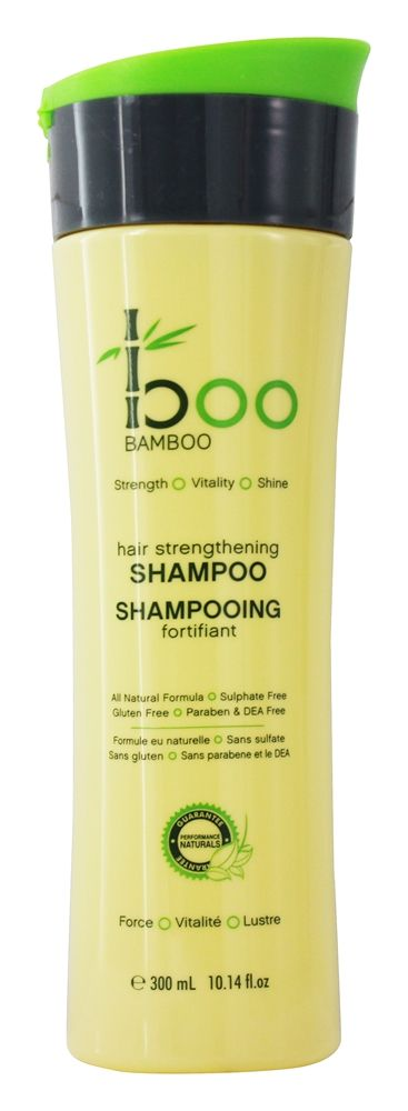 Boo Bamboo - Hair Strengthening Shampoo - 10.14 oz.