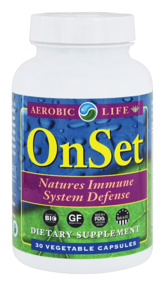 Aerobic Life - OnSet - 30 Capsules Formerly Cold and Flu with Andrographis