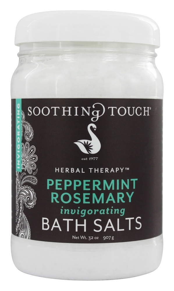 Soothing Touch - Bath Salts Invigorating Peppermint Rosemary - 32 oz. LUCKY PRICE