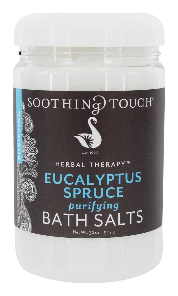 Soothing Touch - Bath Salts Purifying Eucalyptus Spruce - 32 oz. LUCKY PRICE