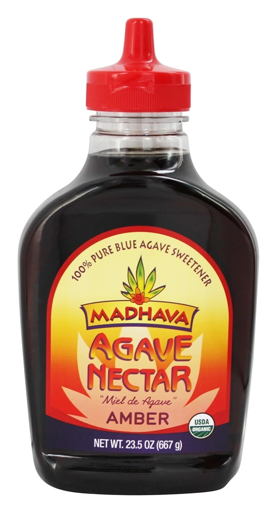 Madhava Natural Sweeteners - Agave Nectar Amber - 23.5 oz.