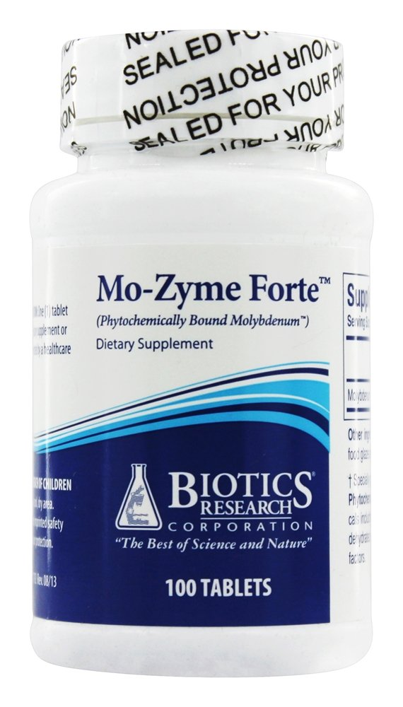 Biotics Research - Mo-Zyme Forte - 100 Tablets