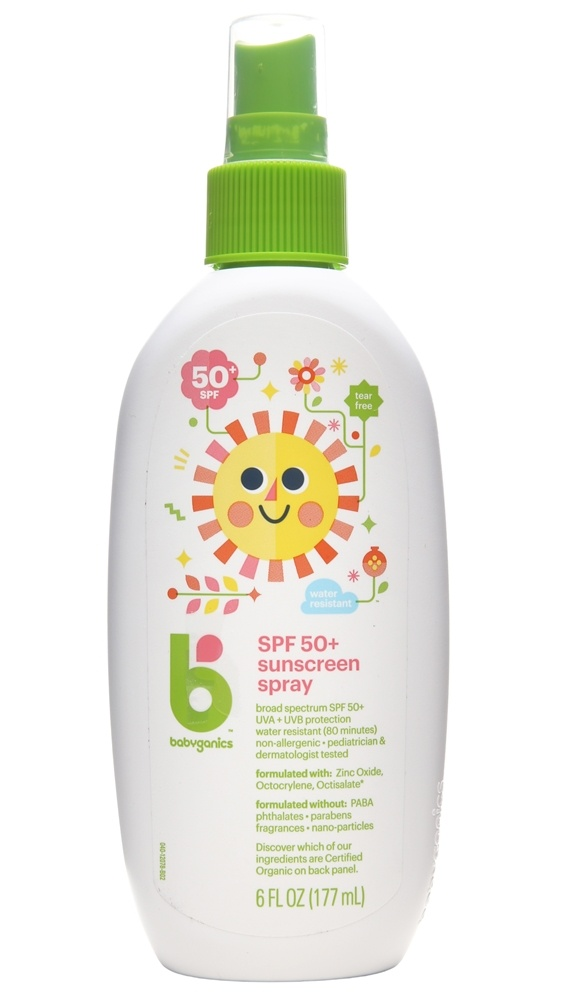 BabyGanics - Sunscreen Spray Mineral Based Fragrance Free 50 SPF - 6 oz.