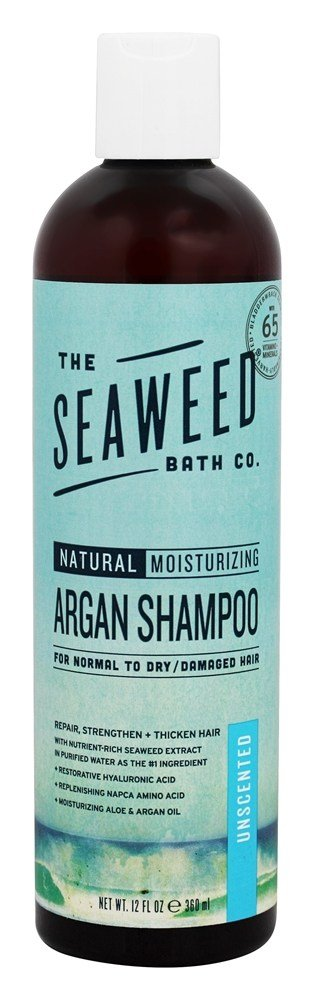 The Seaweed Bath Co. - Natural Moisturizing Argan Shampoo Unscented - 12 oz.
