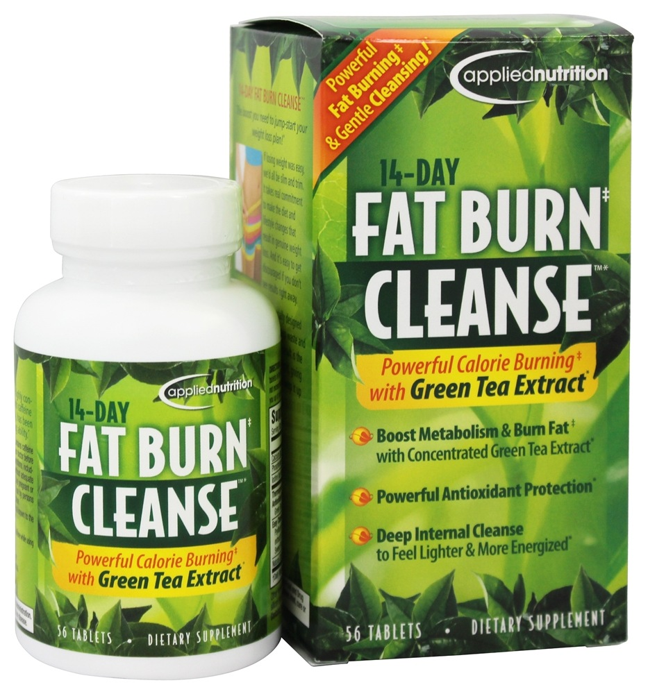Applied Nutrition - 14-Day Fat Burn Cleanse - 56 Tablets