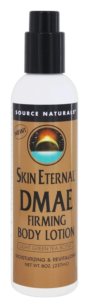 Source Naturals - Skin Eternal DMAE Firming Body Lotion Light Green Tea Scent - 8 oz.