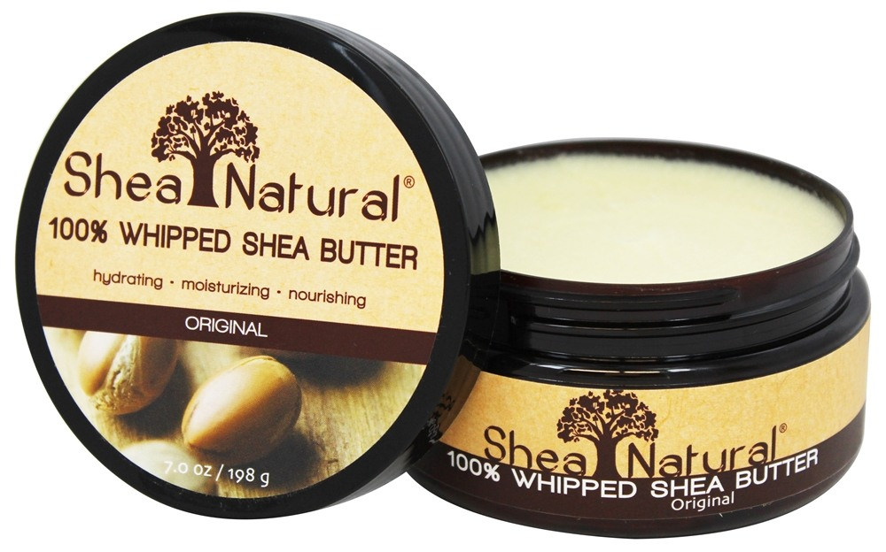 Shea Natural - 100% Whipped Shea Butter Original - 7 oz.