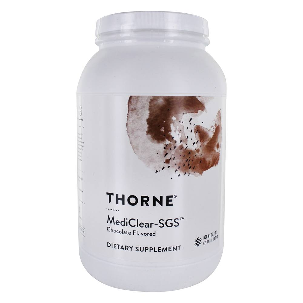 Thorne Research - Mediclear-SGS Chocolate - 37.6 oz.