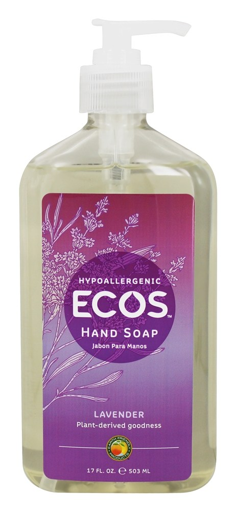Earth Friendly - Hand Soap Organic Lavender - 17 oz.
