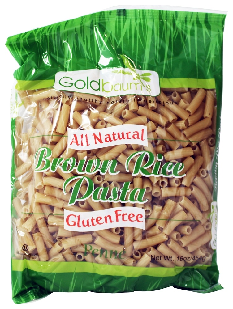 Goldbaum's - All Natural Brown Rice Pasta Gluten Free Penne - 16 oz.