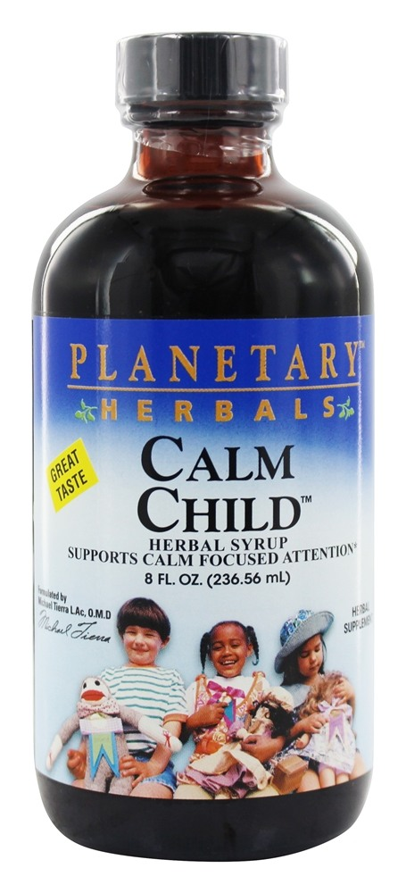 Planetary Herbals - Calm Child Herbal Syrup - 8 oz.
