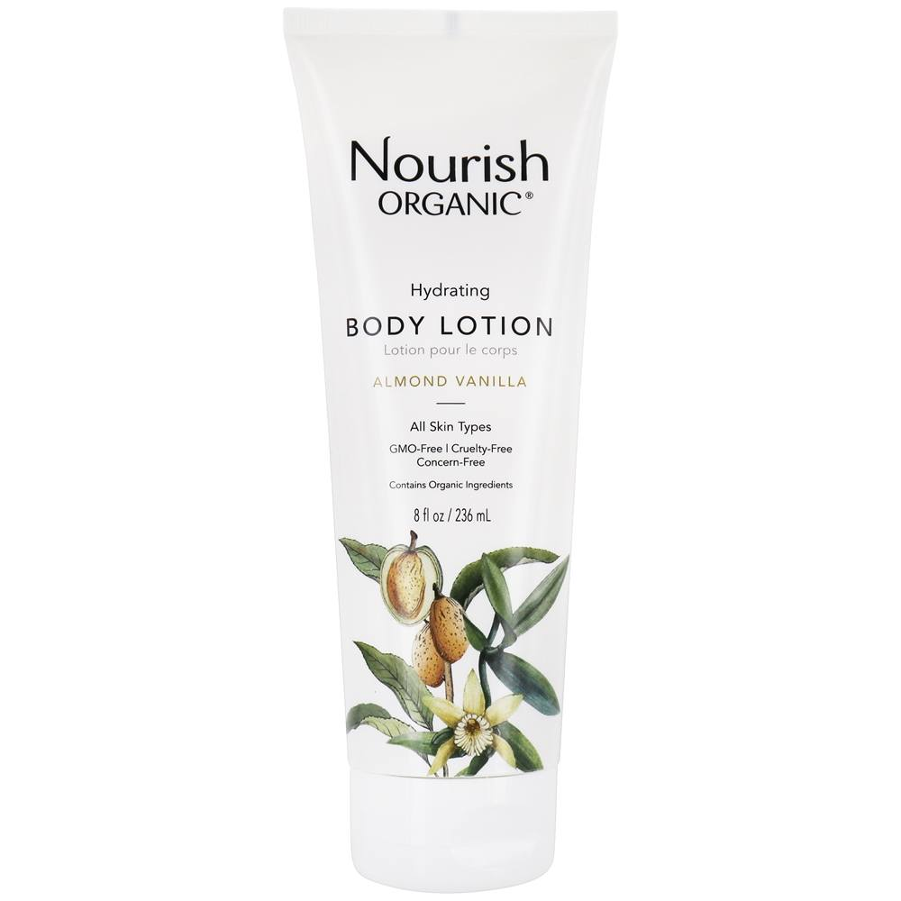 Nourish - Organic Body Lotion Almond Vanilla - 8 oz.