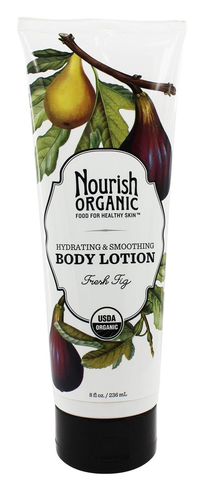 Nourish - Organic Body Lotion Fresh Fig - 8 oz.