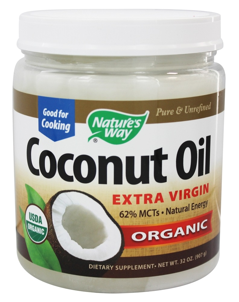 Nature's Way - Organic Pure Extra Virgin Coconut Oil - 32 oz.