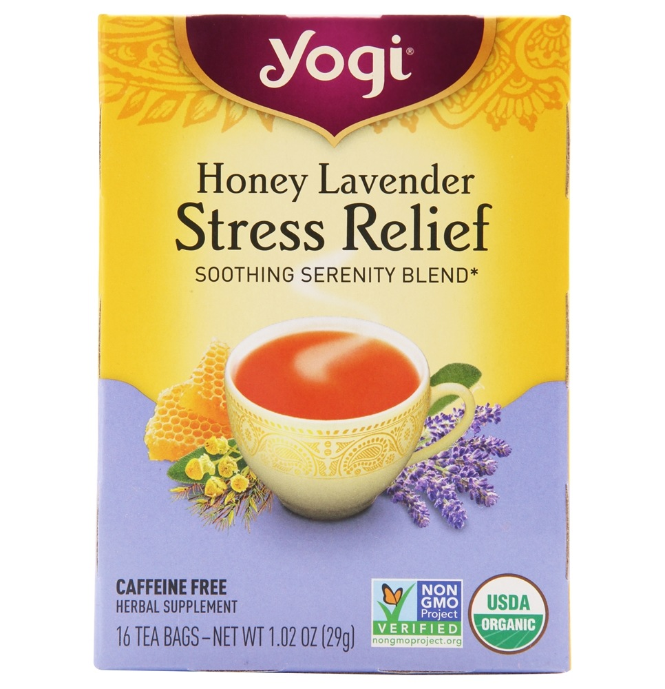 Yogi Tea - Stress Relief Tea Honey Lavender - 16 Tea Bags